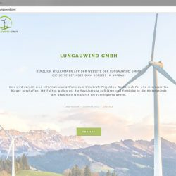 Lungauwind Website Informationen